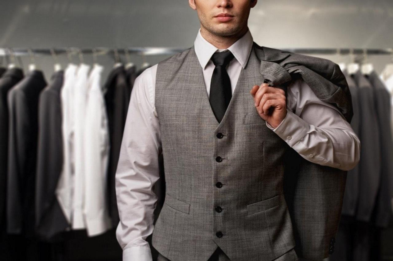 Garderoba w męskim stylu