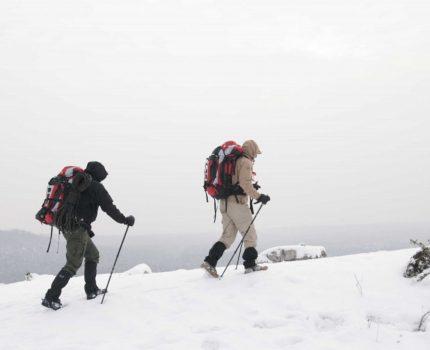 Męskie wyprawy zimą. Nie zapomnij o kalesonach…